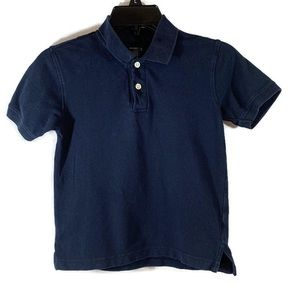 Old Navy Boys Polo Blue Size Small